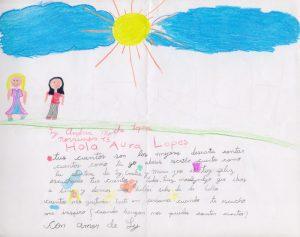 Cartas de los niños del colegio Theodoro Hertzl