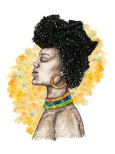 Mi pelo llama a África
