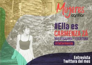 #EllaEs… @ZaCarmenza, una investigadora del sexo, la mujer y el feminismo