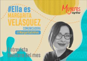 #EllaEs… @MargaritaEnVivo, el periodismo con visión de género en Colombia «es una asignatura pendiente»